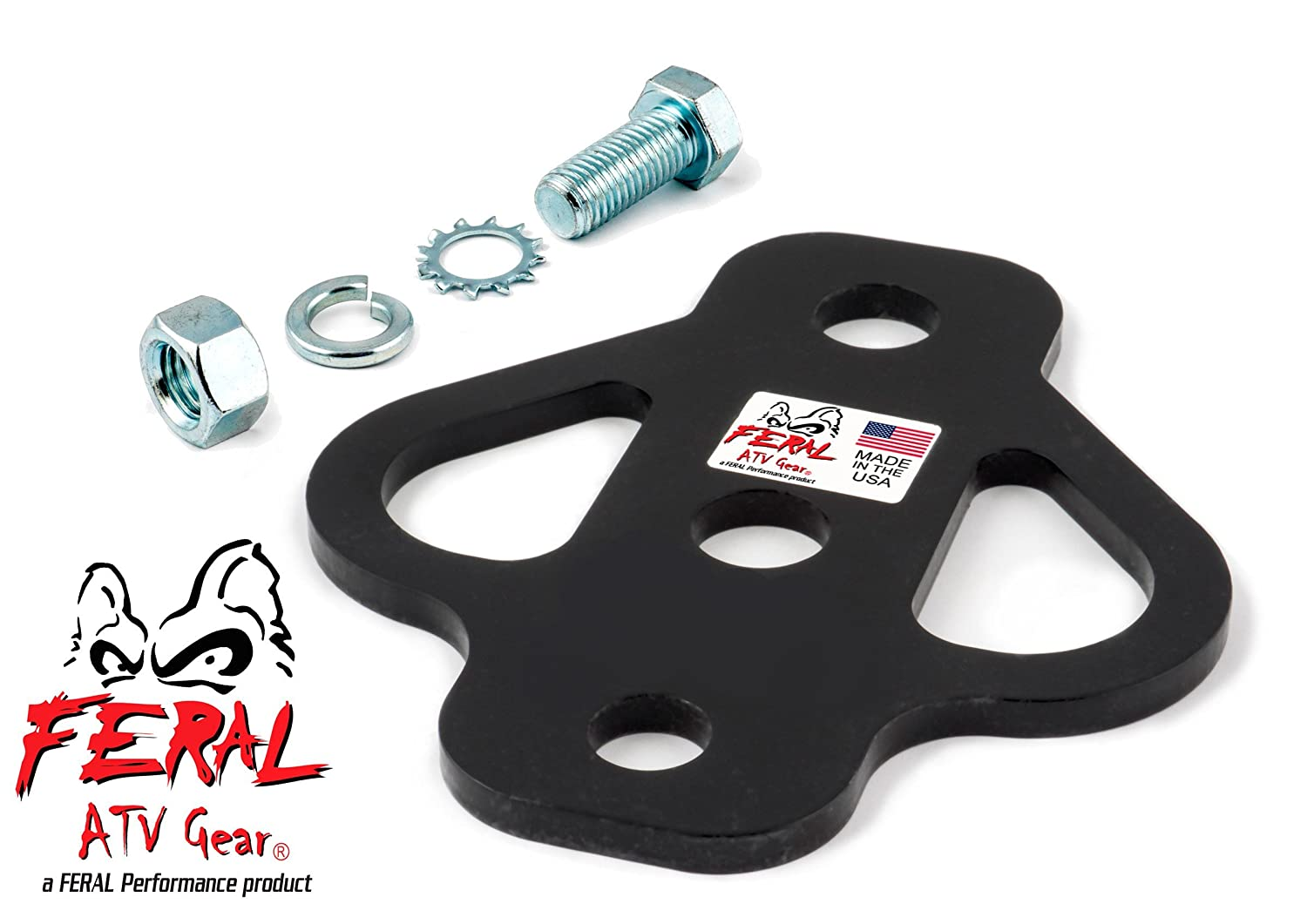FERAL Performance Spread Eagle 3-Way Hitch, Bolt-On 24010