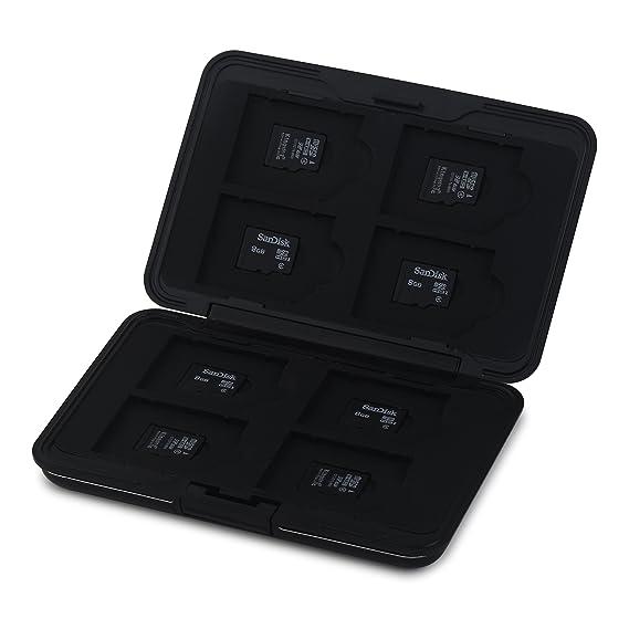 Amazon.com: Honsky aluminio SD Micro SD funda para tarjeta ...