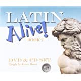 Amazon latin alive book two teachers edition latin edition 2 dvd cd set english and latin edition fandeluxe Image collections