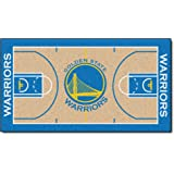 FANMATS  9264  NBA Golden State Warriors Nylon Face NBA Court Runner-Large