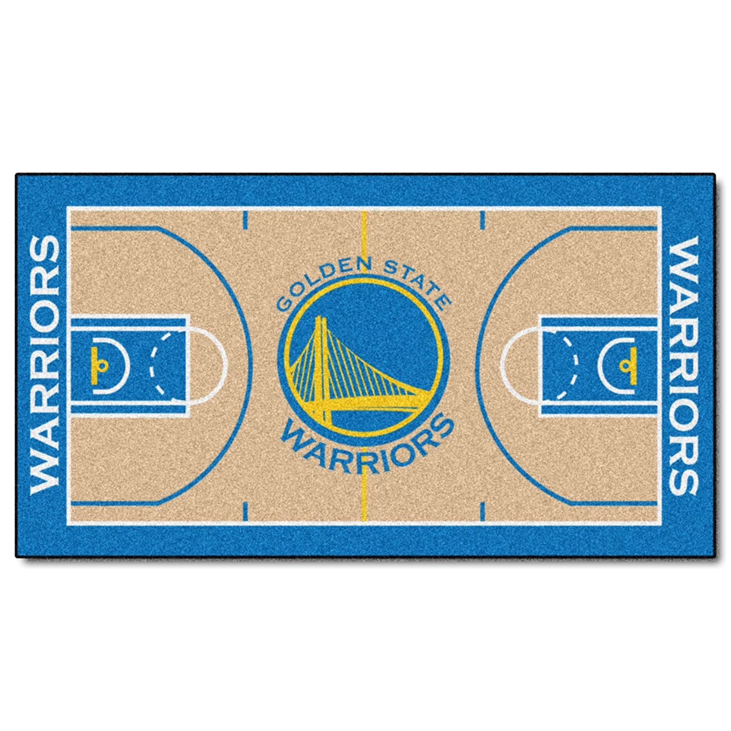 Amazon FANMATS 9264 NBA Golden State Warriors Nylon Face NBA
