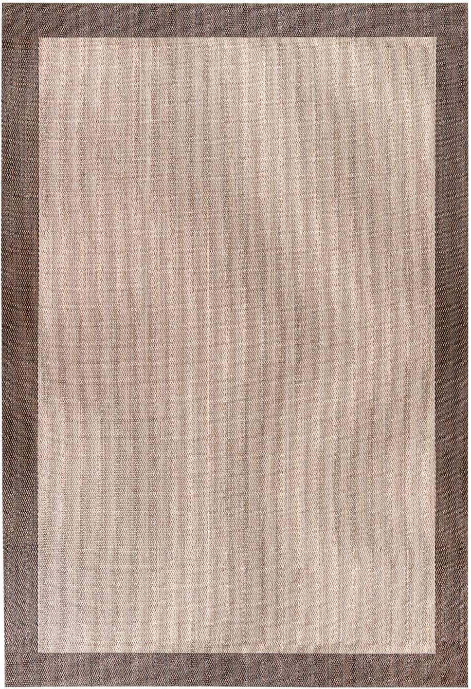 STORESDECO Alfombra vinílica Deblon – Alfombra de PVC Antideslizante y Resistente, Ideal para salón, Cocina, baño… ¡Disponible en Medidas Grandes! (160cm x 230cm, Marrón)
