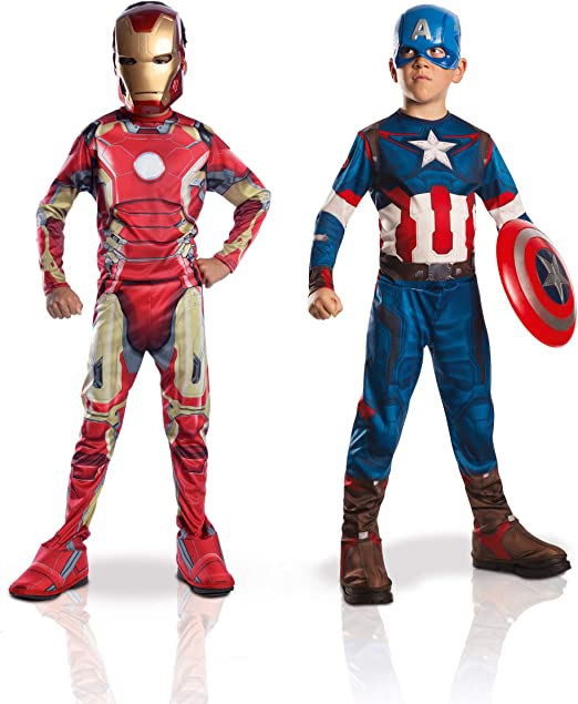 Marvel 155014S - Disfraces para niños, Avengers: Captain America ...