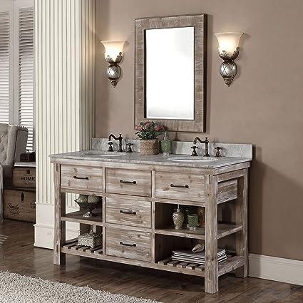 amazon com bhbl 60 in freestanding bathroom vanity b wk9360 rh amazon com freestanding bathroom vanity units uk freestanding bathroom vanity units uk