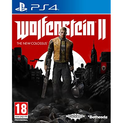 Wolfenstein II: The New Colossus - Day One Edition: PlayStation 4: Videojuegos