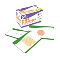5th Grade Math Flashcards: 240 Flashcards for Improving Math Skills Based on Sylvan's Proven Techniques for Success (Sylvan Math Flashcards)