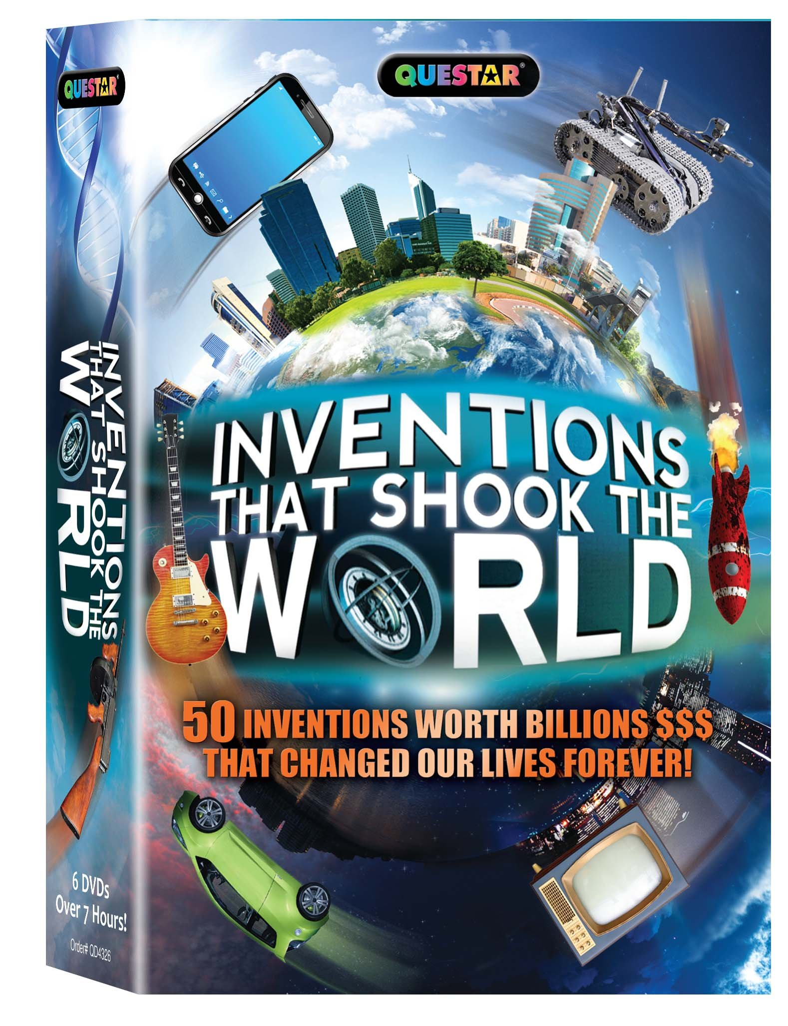 Inventions that Shook the World 6 pk.