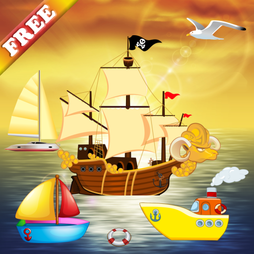 Boat Puzzles for Toddlers and Kids : puzzle games on the sea with boats and ships ! FREE