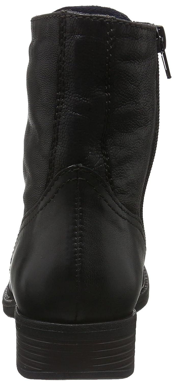 Tamaris Damen 25223 Combat Stiefel Schwarz (schwarz Antic
