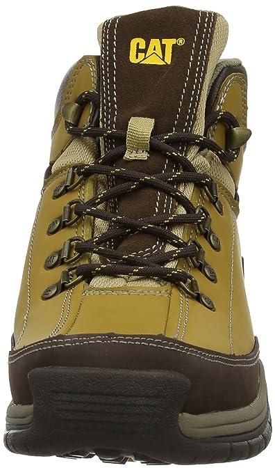 45fe6346502 Cat - Zapatillas de Senderismo para Hombre, Color Yellow (Honey), Talla 46:  Amazon.es: Zapatos y complementos