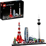 LEGO Architecture Skylines: Tokyo 21051 Building Kit, Collectible Architecture Building Set for Adults (547 Pieces)