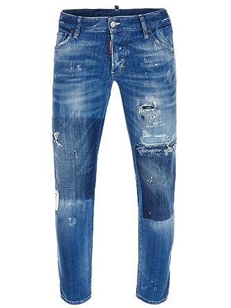 171e21076e4a2 DSquared2 Cool Guy S71LB0099 S30342 470 Jeans Dsquared D2  Amazon.co ...
