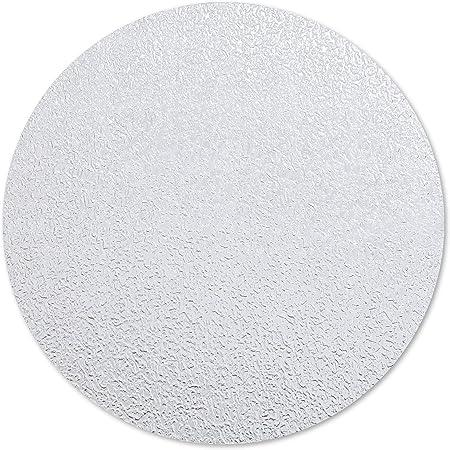 HaftPlus 10 Dischi Adesivi Antiscivolo per Piatto Doccia e Vasca da Bagno 1 Set di Gommini Antisdrucciolo Trasparenti /Ø 10 cm