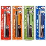 Set of 4 Pilot Parallel Calligraphy Pens 1.5, 2.4, 3.8, 6.0 mm