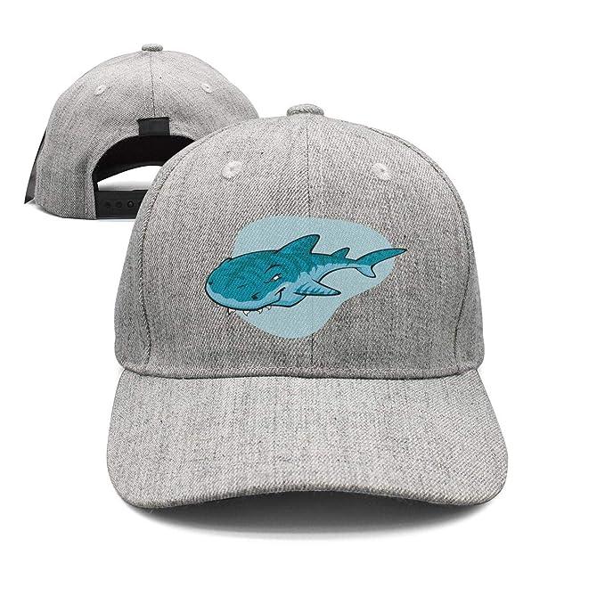 Unisex Summer Baseball Caps Hat Boy Shark Casual Hip-Hop Trucker Sun Visor Women