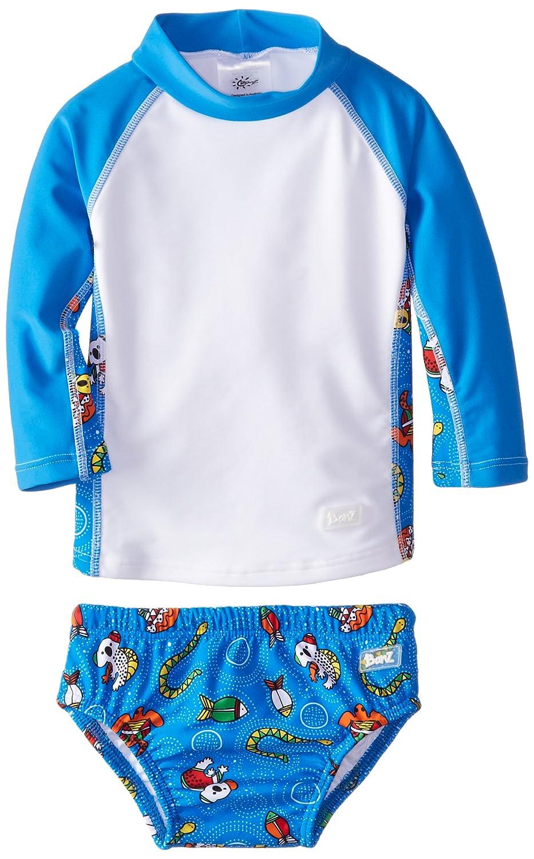 Baby Banz baby-boys Baby Long Sleeve Rash Guard and Swim Diaper Set Baby Banz Baby Apparel