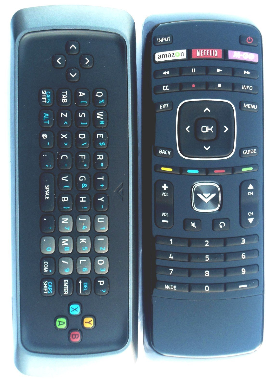 Control Remoto Dual Side Keyboard Internet for Vizio M420...