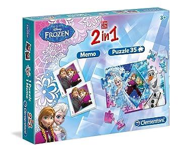 clementoni 139231 malette de jeu la reine des neiges 2 en 1