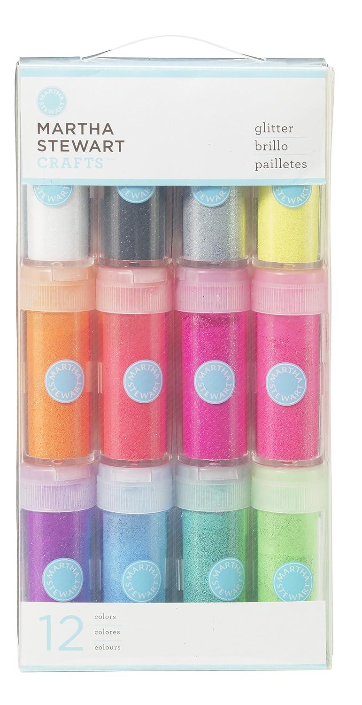 Amazon martha stewart crafts iridescent glitter 12 pack negle Gallery