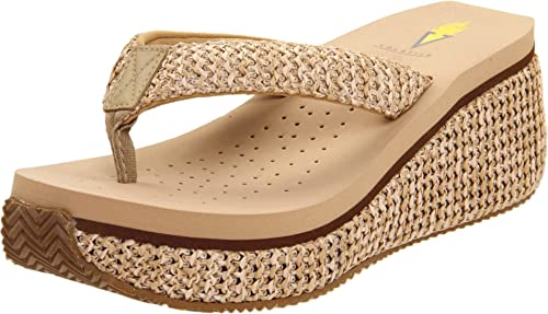 Volatile Women's Island Wedge Sandal by Volatile