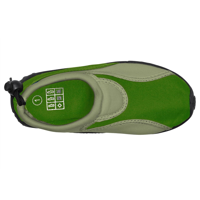 Boys Aqua Shoes Slip-On Athletic Water Shoes//Aqua Socks with Rugged Sole