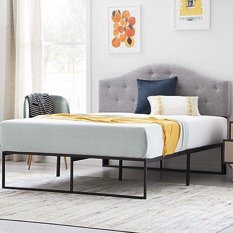 Amazon Com Linenspa Contemporary Platform Bed Frame Twin Furniture Decor