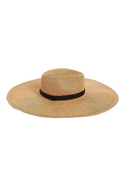 43afe31da3 next Mujer Sombrero Fedora Borsalino Ala Caída Estilo Pamela Verano De  Moda  Amazon.es  Ropa y accesorios