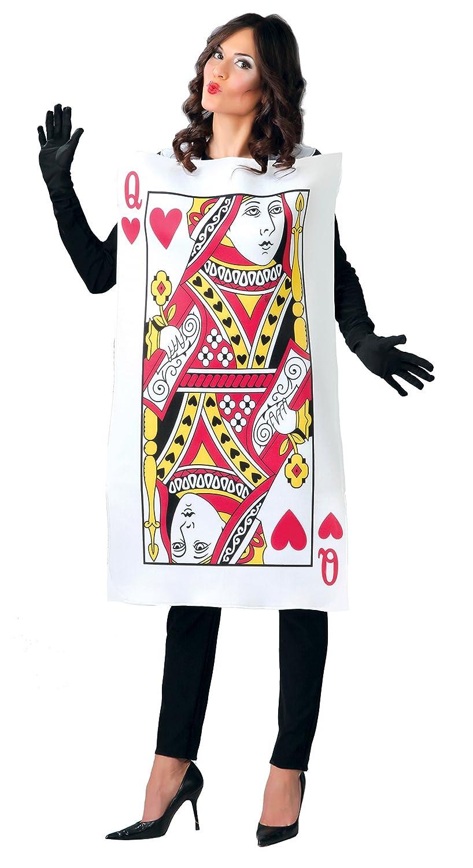 per adulti /Costume da Regina di Cuori da donna Guirca/ rif: 80780.0 taglia 42/-/44