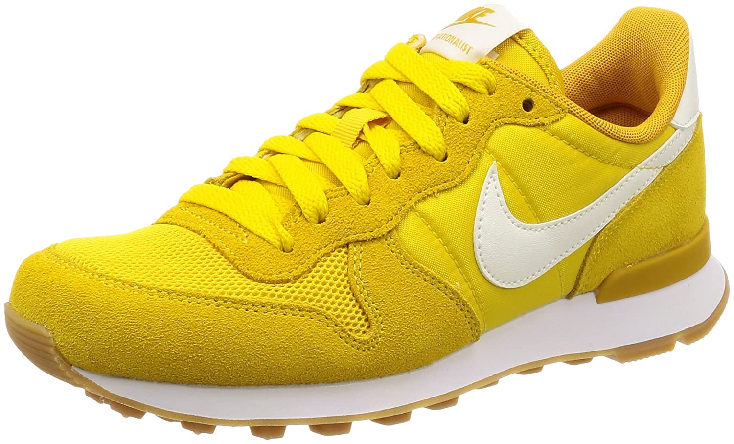 Nike Schuhe Damen Sneaker 828407 703 Internationalist Gelb Yellow ...