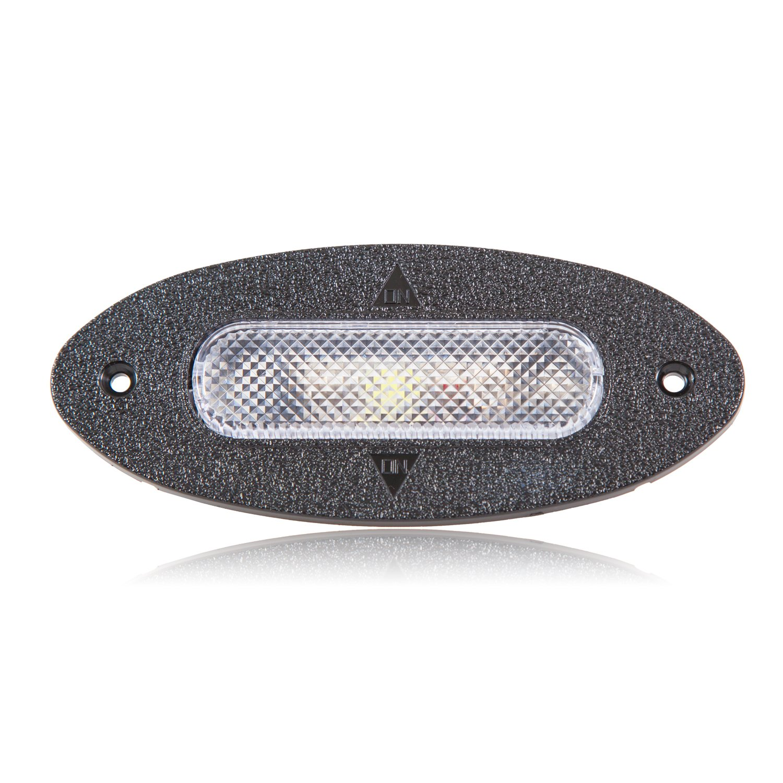 Maxxima LED-063CL White Interior Flip LED Light