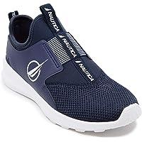 Nautica Women Canvey Fashion Jogger Sneaker Slip-On Navy-8.5