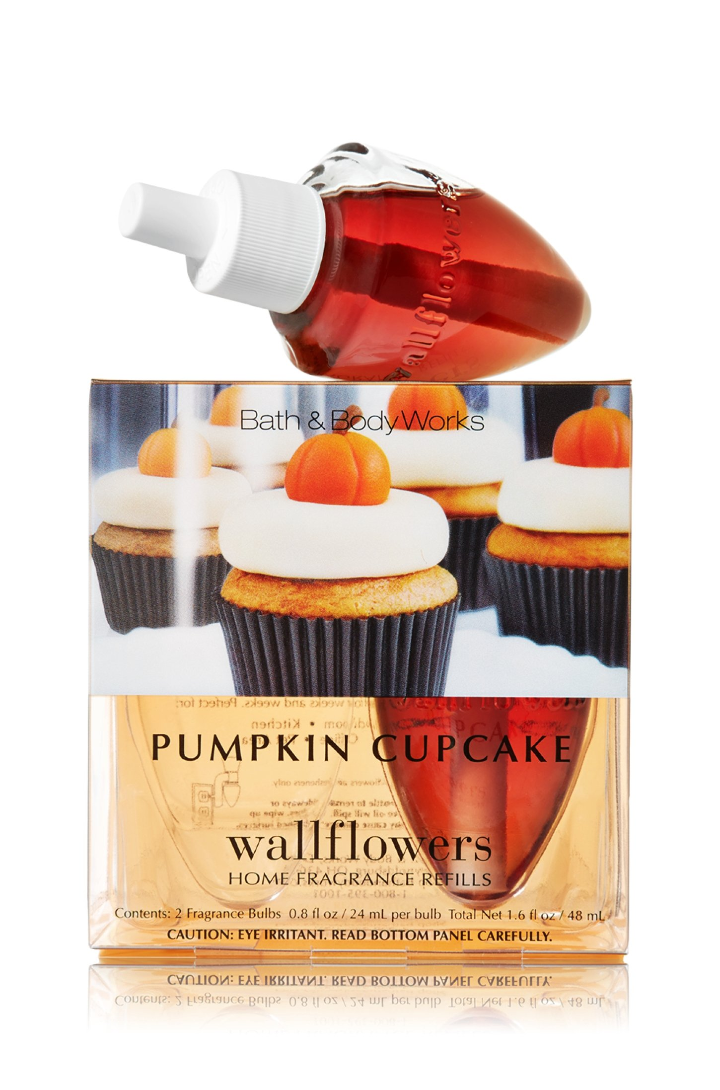 Wallflowers 2-pack Refills Pumpkin Cupcake
