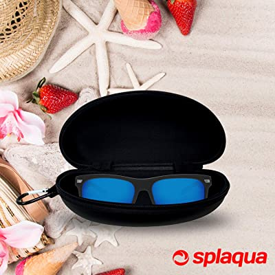 Portable Travel Zipper Eyeglasses Case 3 Pack RayLove Sunglasses Case