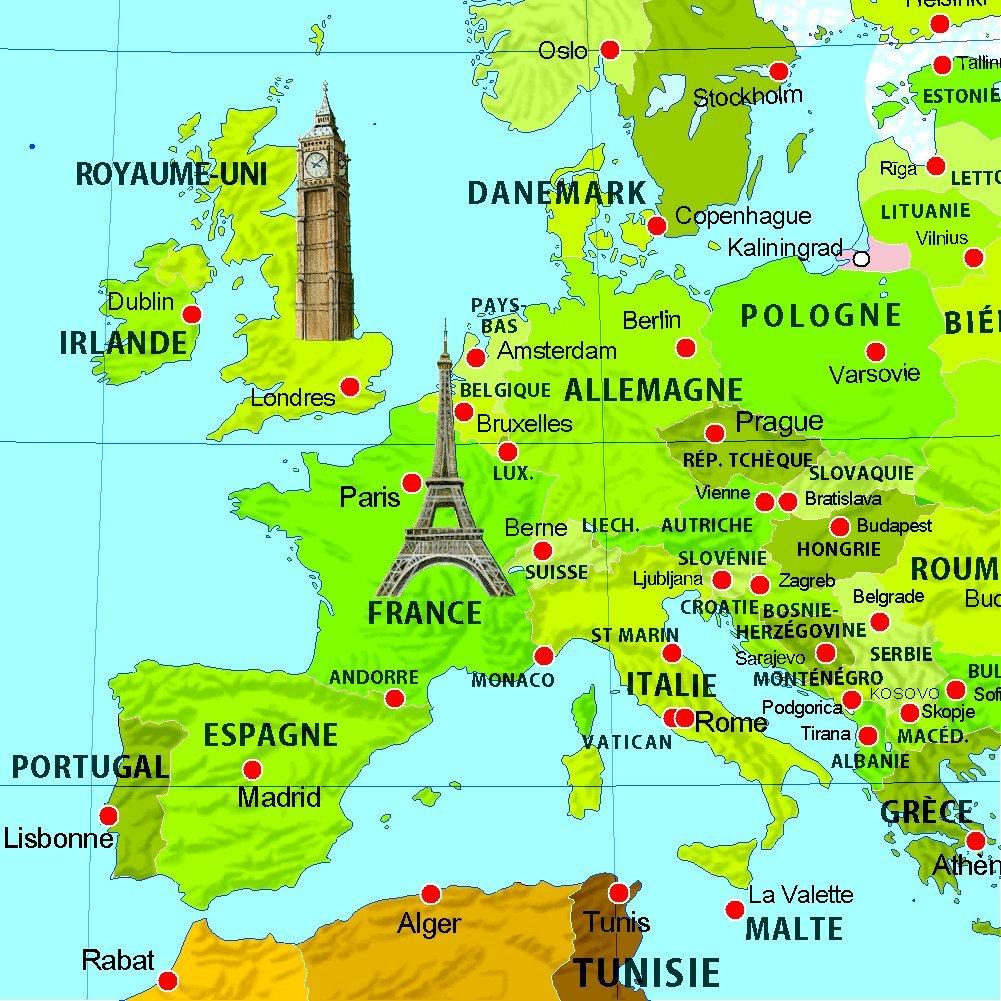 Carte Du Monde Hongrie.Ma Carte Du Monde Enfants Amazon Ca Collectif Collectif