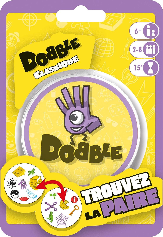 Asmodée- Dobble Classic Blister, Color jeu dambiance (DOBB02FR ...