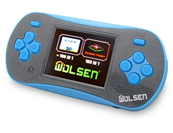 Amazon WOLSEN 25 LCD Portable Handheld Video Game Console Speaker 3 X AAA 260 In 1 Games Green Computers Accessories