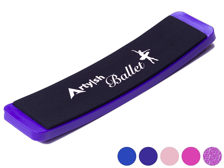 Turningボードby artyishバレエ、ダンス、オンボード、Pirouettesスピンボードfor Dancers向上、バランスとTurns、トレーニング練習ツール 紫の without carrying bag and box