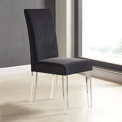 Armen Living Dalia Modern and Contemporary Dining Chair Set of 2