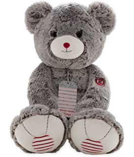 Kaloo Rouge XL Prestige Bear-Grey Plush