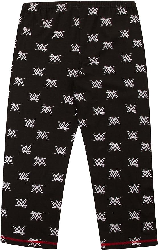 Boys WWE World Wrestling Entertainment Pyjama 6//à 12/Ans W17