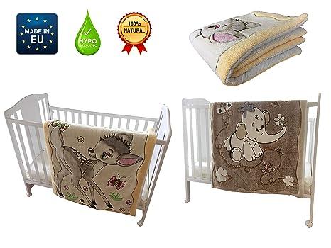 Manta recién nacido niño y niña: Invierno, Polar y algodón ...