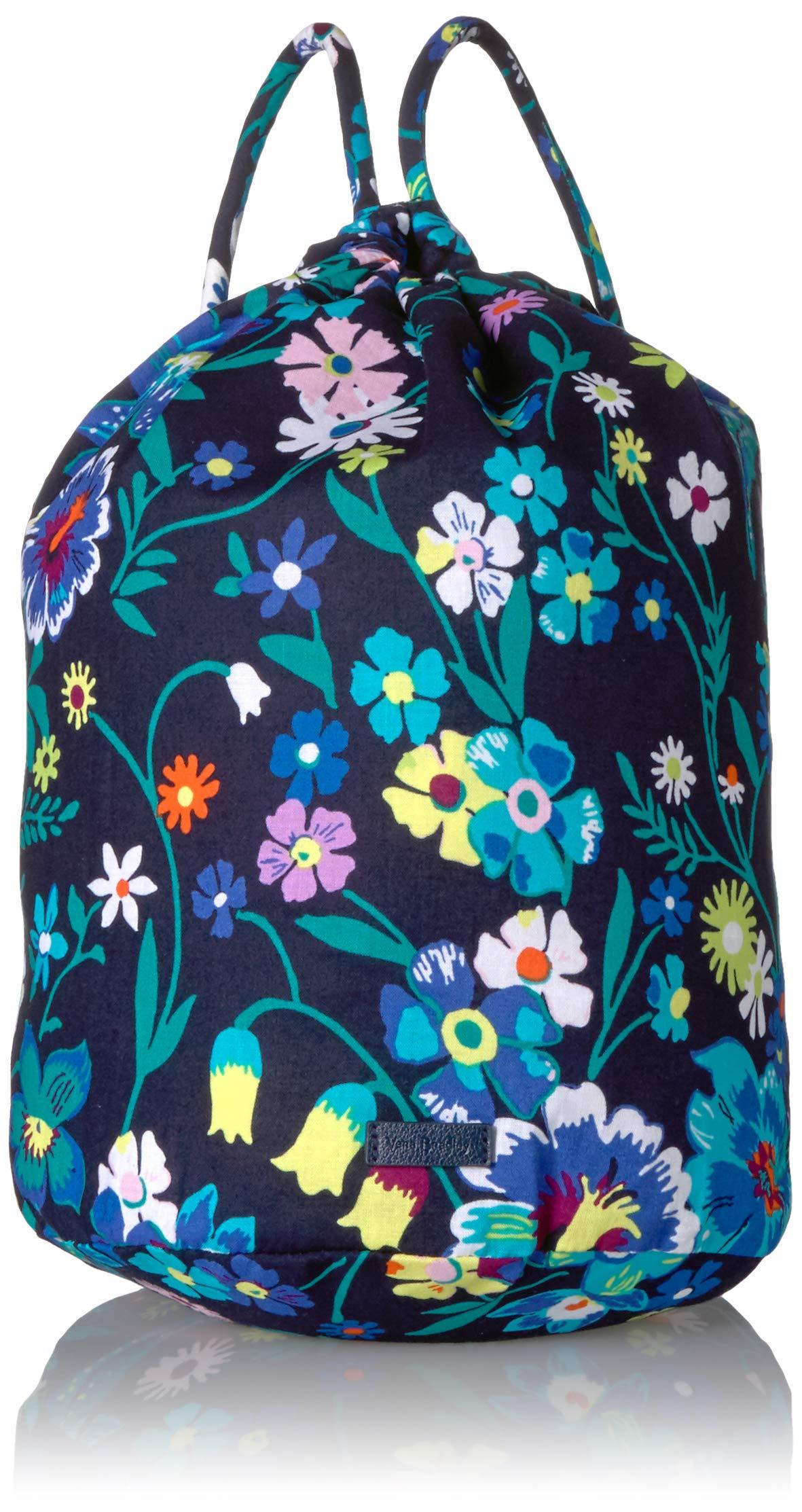 Vera Bradley Iconic Ditty Bag, Signature Cotton, Moonlight Garde