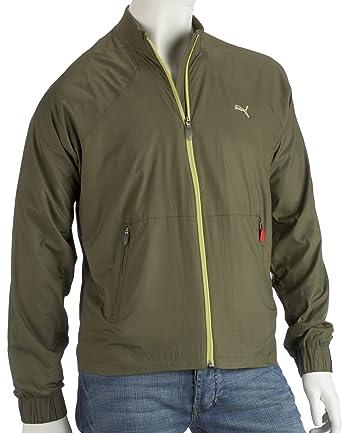 Puma - Chaqueta de golf para hombre, tamaño S, color verde