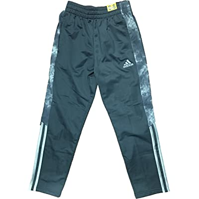 adidas Boys Athletic Pants Dark Grey