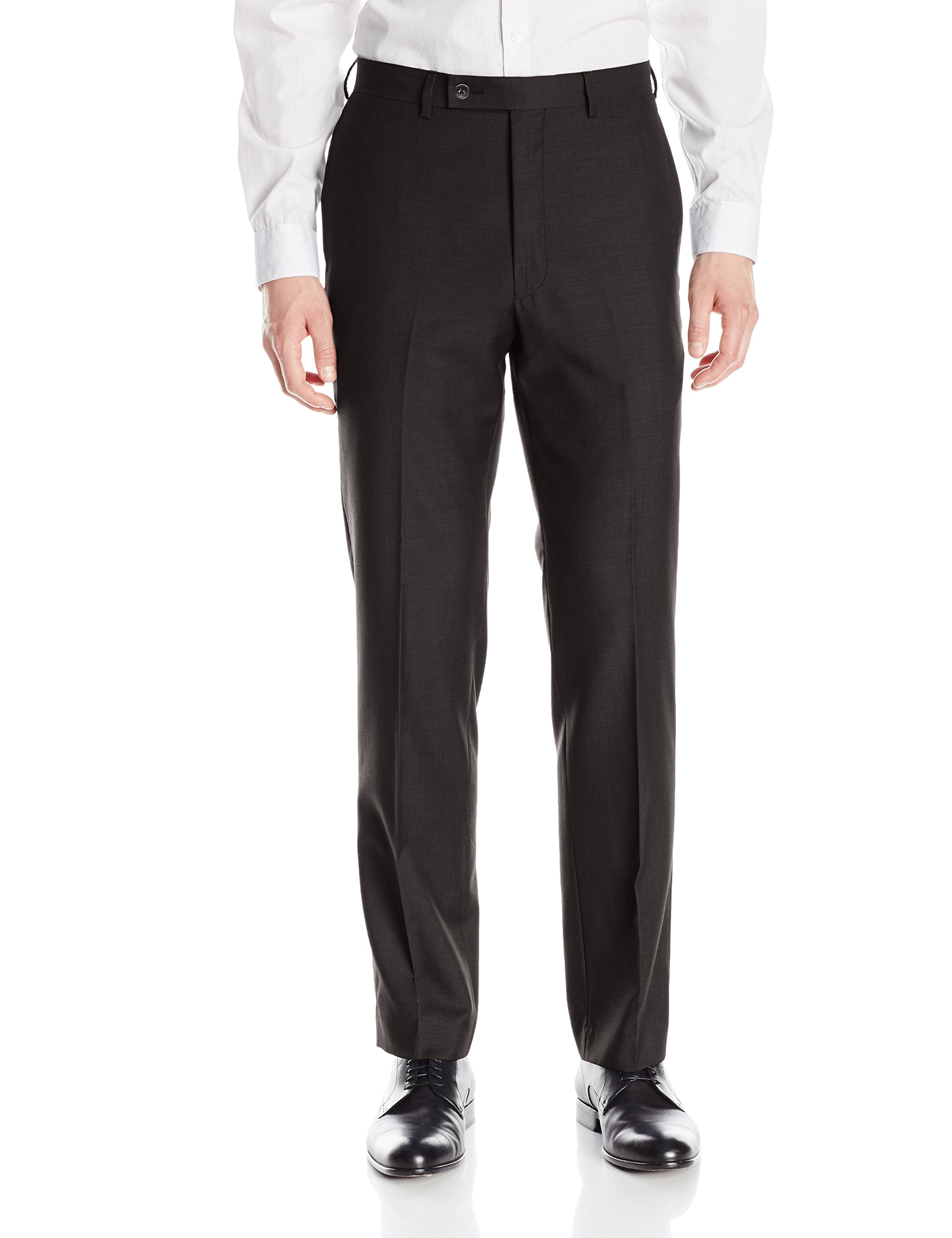 Calvin Klein Men's X-Fit Slim Stretch Suit Separate (Blazer and Pant), Black, 32W x 30L