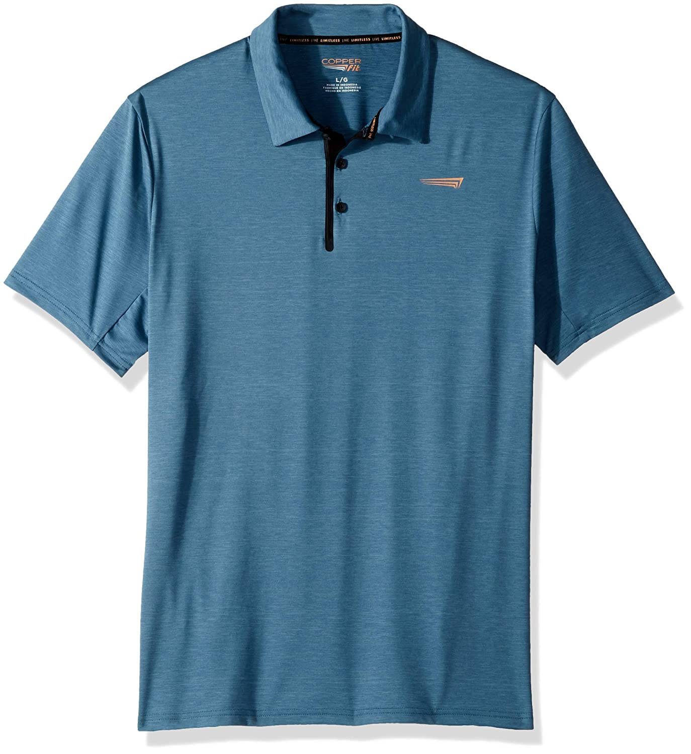 Copper Fit Mens Short Sleeve Polo
