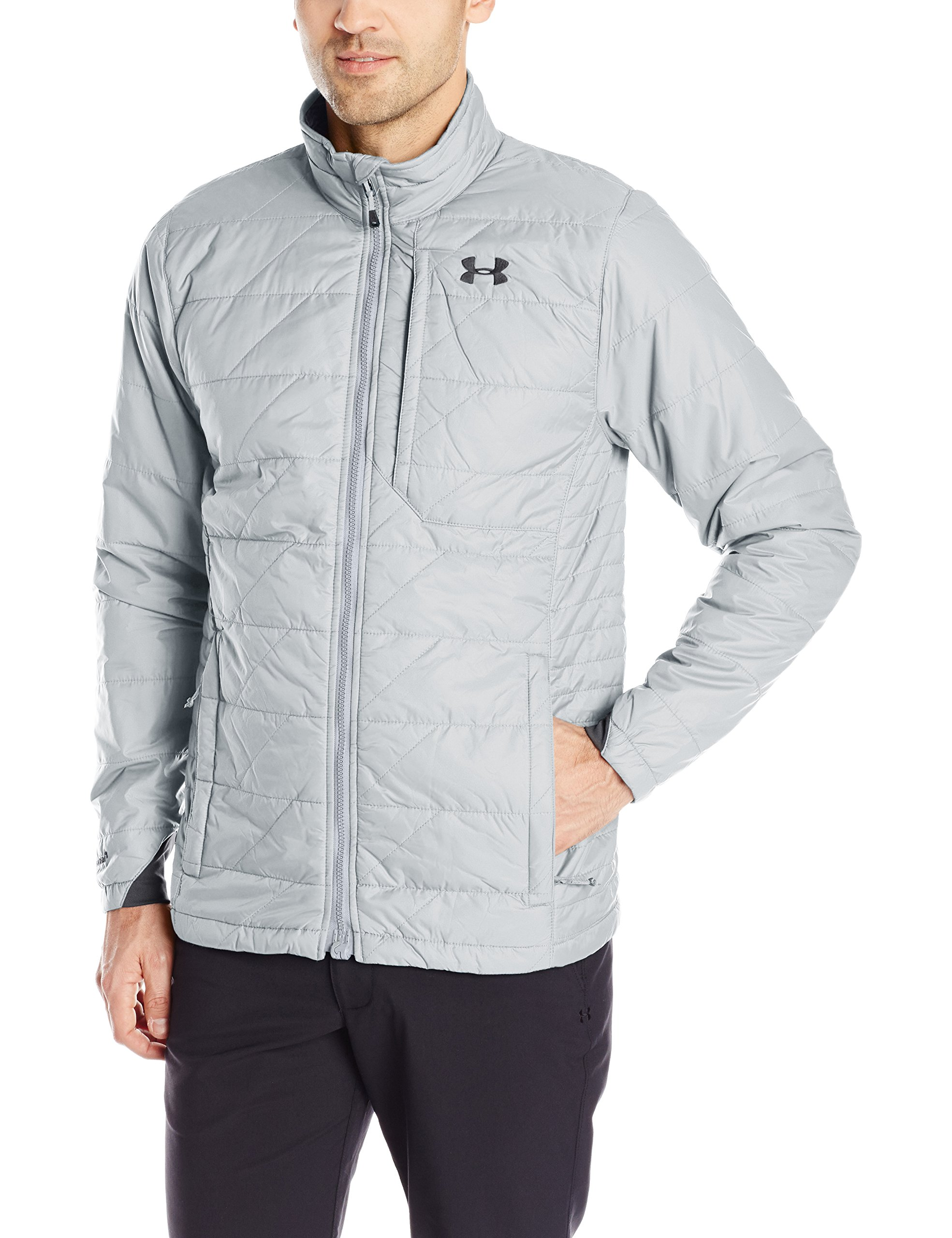 Under Armour Men's Storm ColdGear Infrared Micro Jacket, Steel/Black, XX-Large