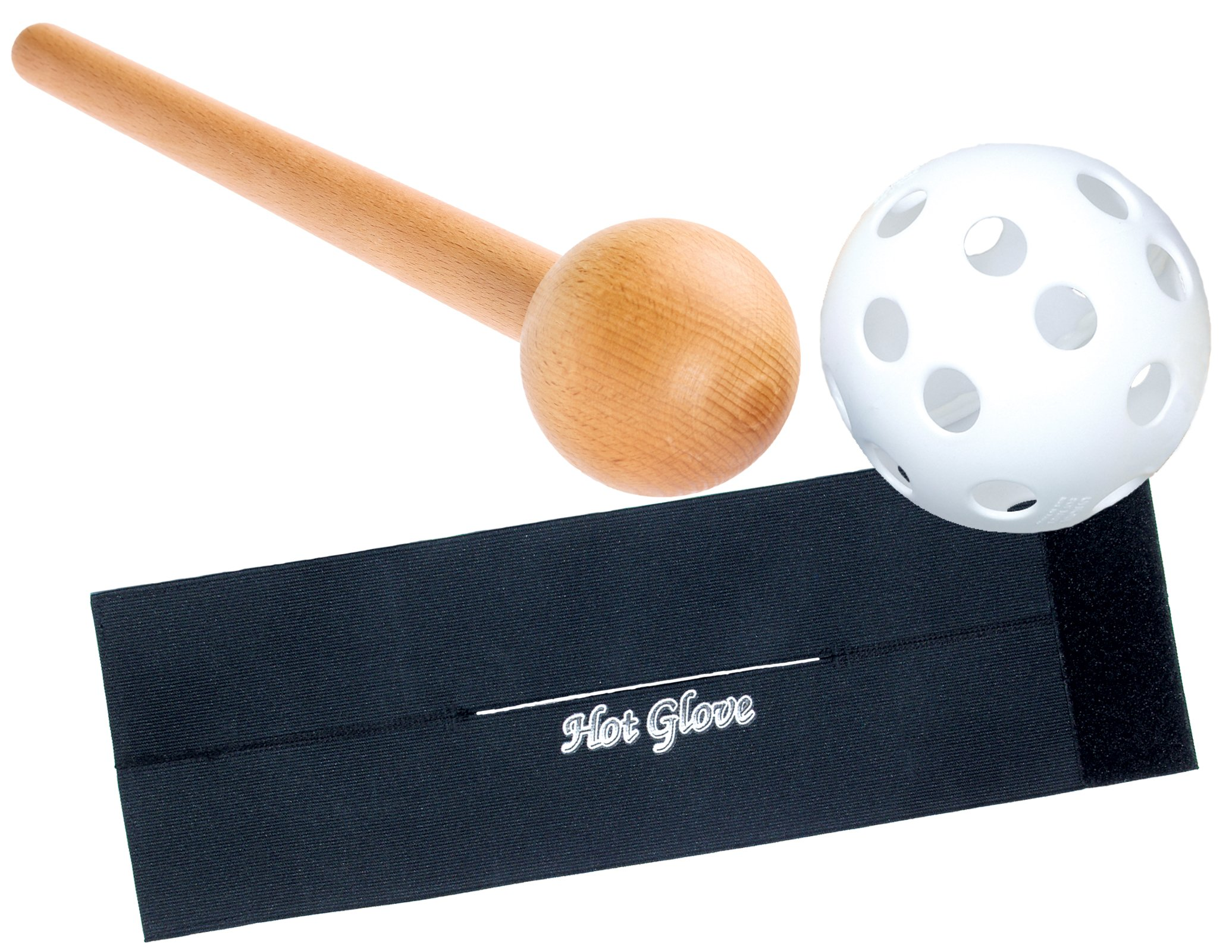 Hot Glove Mallet & Glove Wrap Bundle Break-in Kit by Hot Glove