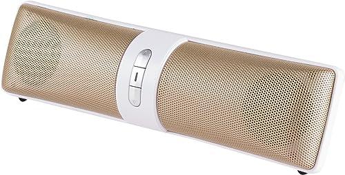 Vivitar VZ60021-BT-GLD V.Metallic Bt Rechargeable Speakers