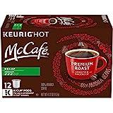 McCafe Premium Decaf Medium Roast Coffee Keurig K Cup Pods (12 Count)